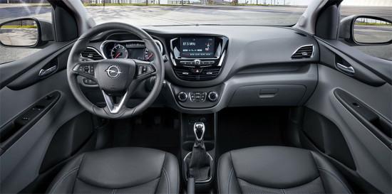 интерьер Opel Karl