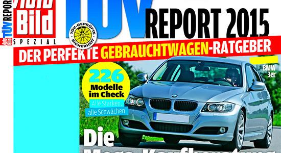 рейтинг надёжности авто TUV Report 2015
