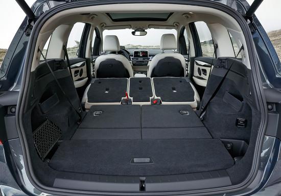 багажное отделение BMW 2-series Gran Tourer