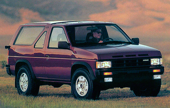 трёхдверный Nissan Terrano I