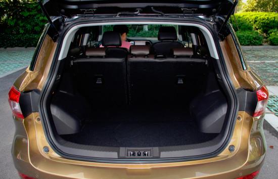багажное отделение GAC Trumpchi GS4