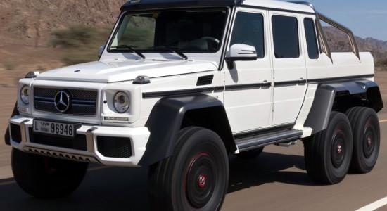 Mercedes-Benz G63 AMG 0x6 получай IronHorse.ru ©