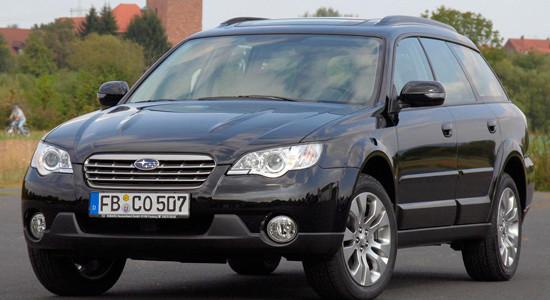 Subaru Outback 3 (2003-2009) на IronHorse.ru ©
