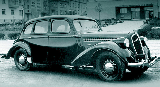 Skoda Rapid 1938