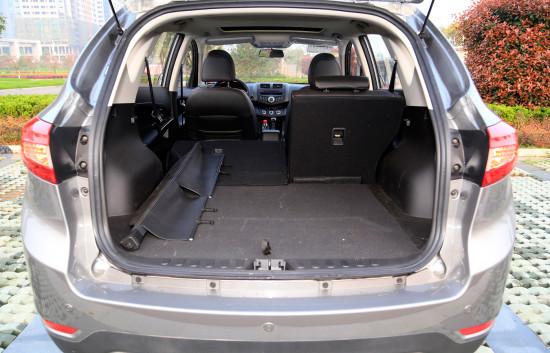 багажное отделение X5 от Landwind