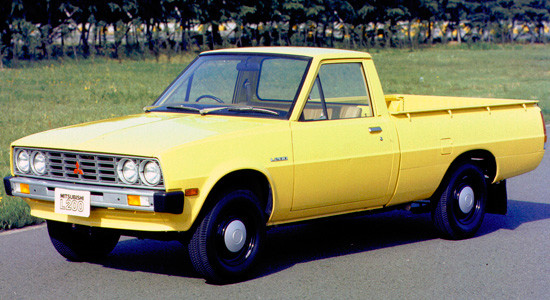Mitsubishi L200 1 (1978-1986) на IronHorse.ru ©