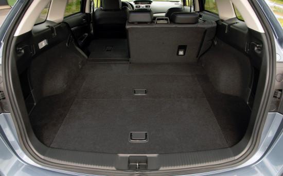 багажное отделение Subaru Levorg