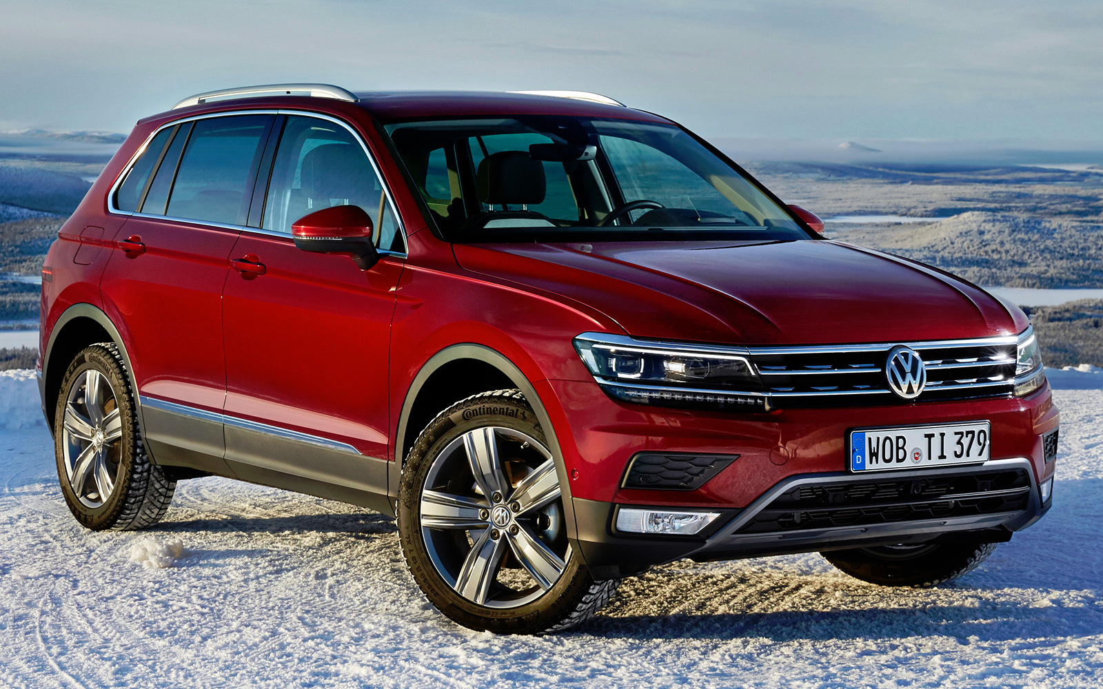 Volkswagen Tiguan 2017 2018 цена и характеристики