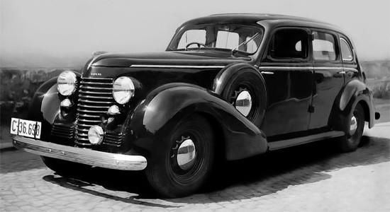 Skoda Superb (1934-1949) на IronHorse.ru ©