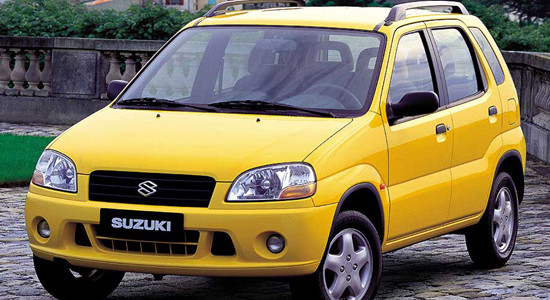 Suzuki Ignis 1 (2000-2006) на IronHorse.ru ©