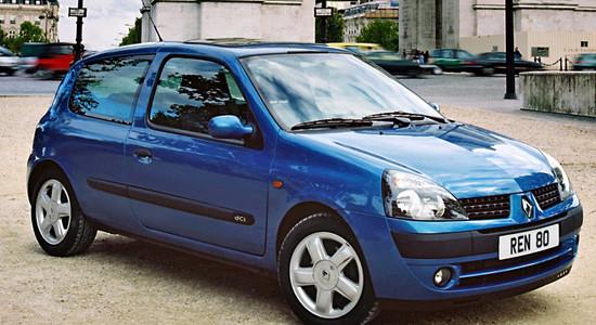 Renault Clio 2 (1998-2005) на IronHorse.ru ©
