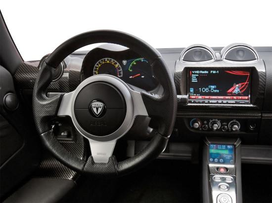 интерьер Tesla Roadster Sport (2008-2012)