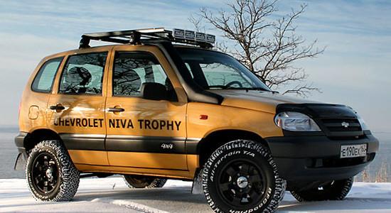 Chevrolet Niva 1 Trophy на IronHorse.ru ©