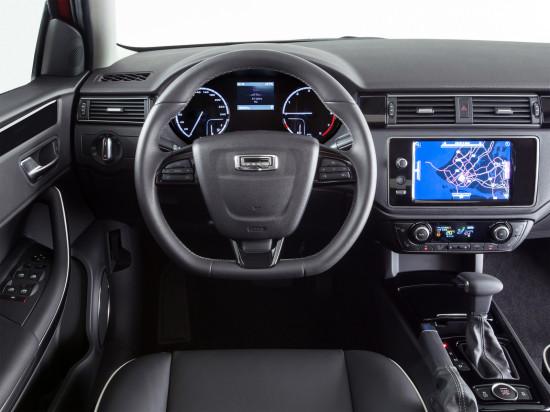 приборная панель и центральная консоль Qoros 3 Hatch