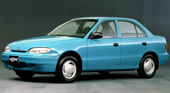 Hyundai Accent 1 (1994-2000) на IronHorse.ru ©