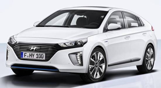 Hyundai IONIQ Hybrid на IronHorse.ru ©