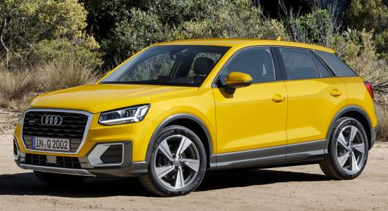 Audi Q2 (2016-2017) на IronHorse.ru ©