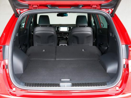 багажное отделение Sportage GT-Line