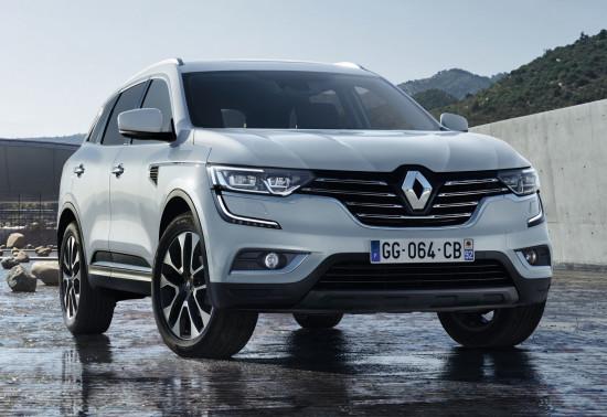 Renault Koleos 2 (2016-2017) цена и характеристики, фотографии и обзор