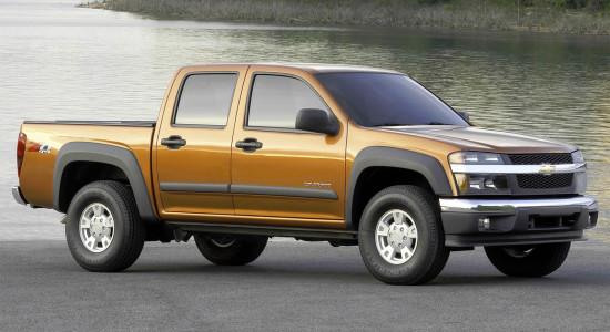 Chevrolet Colorado 1 (2003-2012) на IronHorse.ru ©