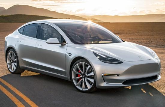 Tesla Model 3, технические характеристики, цена в России и Украине