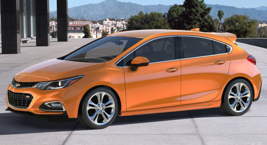 Chevrolet Cruze Hatchback (%year%)