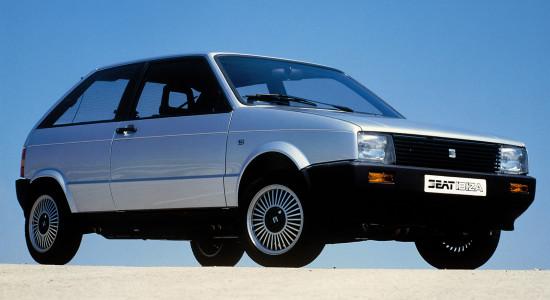 SEAT Ibiza 1 (1984-1993) на IronHorse.ru ©