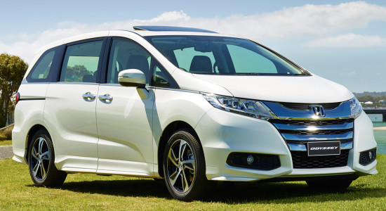 Honda Odyssey 5 (2016-2017) на IronHorse.ru ©