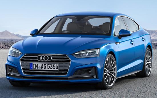 Audi A5 Sportback (2016-2017) цена и характеристики, фотографии и обзор