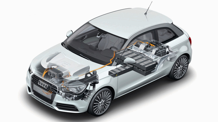 Audi A1 e-Tron Prototype '2010