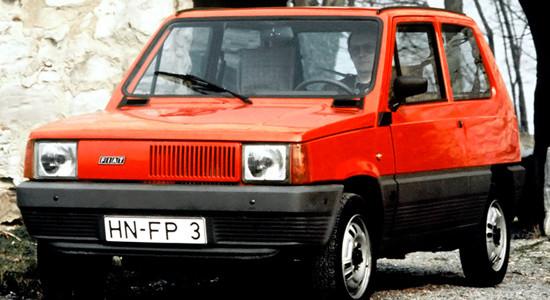 Fiat Panda 1 (1980-2003) на IronHorse.ru ©