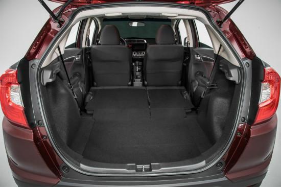 багажное отделение Honda WR-V