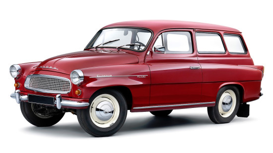Skoda Octavia (Type 993C) 1960–1971