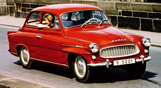 Skoda Octavia (1959-1971) на IronHorse.ru ©
