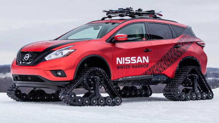 Nissan Murano «Winter Warrior»