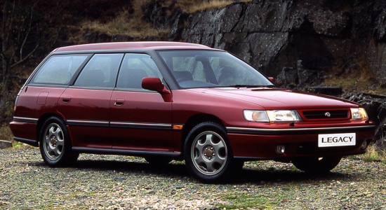 Subaru Legacy 1 (1989-1994) на IronHorse.ru ©