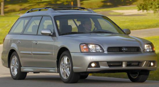 Subaru Legacy 3 (1998-2004) на IronHorse.ru ©
