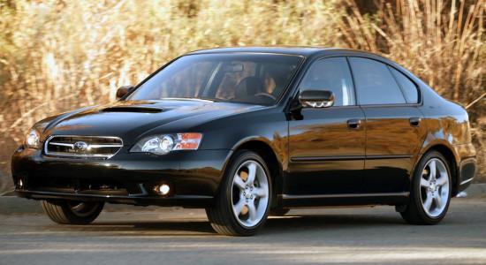 Subaru Legacy 4 (2003-2009) на IronHorse.ru ©
