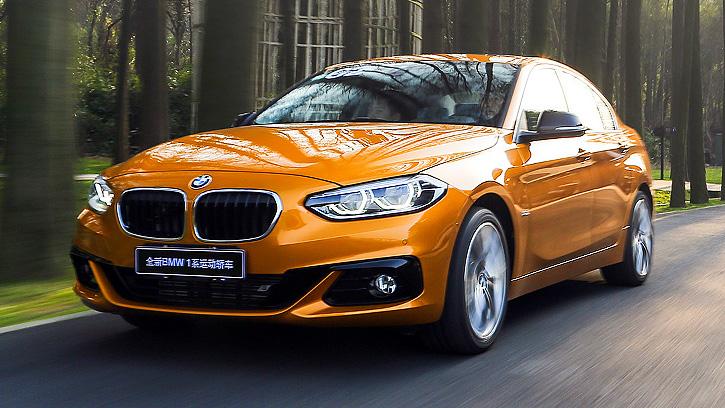 BMW 1 Series Sedan '2016