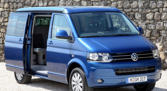 Volkswagen California (T5, 2003-2015) на IronHorse.ru ©