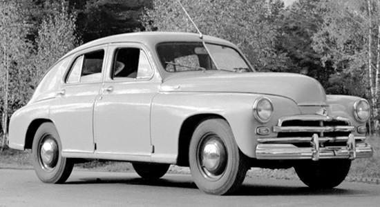 ГАЗ М-20 Победа (1946-1958) на IronHorse.ru ©
