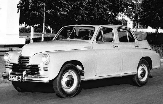 седан-кабриолет ГАЗ М-20 Победа
