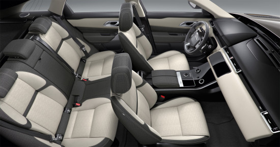 интерьер салона Range Rover Velar
