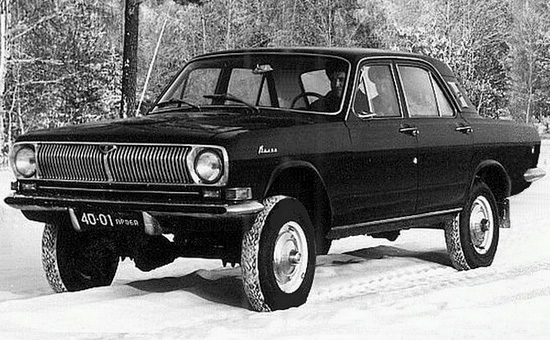 внедорожник ГАЗ-24-95 Волга