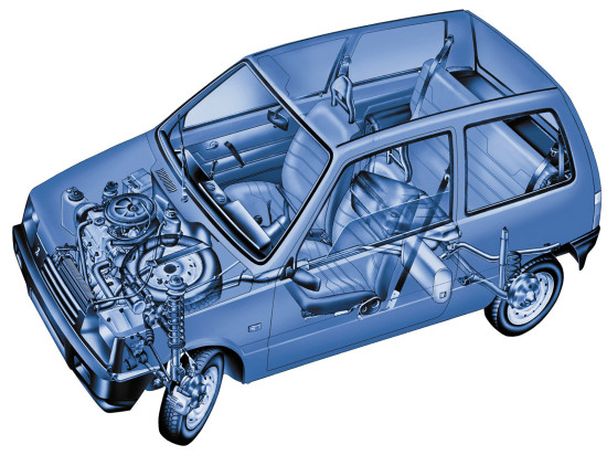 конструкция автомобиля ОКА