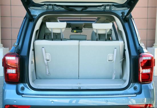 багажник GAC Trumpchi GS8